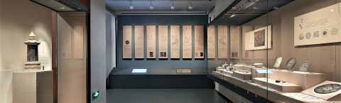 Wall Display Cases Create Coherent Historical Story Lines