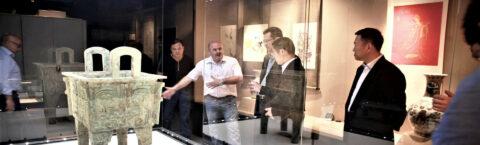 Visitée par les professionnels de l'UE Projet Musée